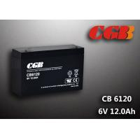 China CB6120 charging high capacity AGM Lead Acid Battery 6V 12AH Anti Erosion Alarm System wholesale