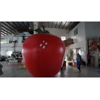 China 3.5m Height Apple Shaped Balloons Pantone Color Matched Printing Large wholesale