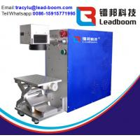 China Long Service Time Portable Laser Marking Machine Blue Color For Non Metal Materials wholesale