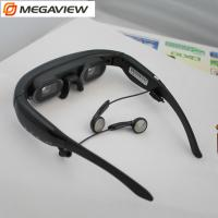 """Buy cheap Wearable 72"""" Mobile Theatre Video Glasses Wide Screen 16 / 9 Virtual Picture from wholesalers"""