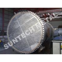 China Duplex Steel 2205 Shell Tube Heat Exchanger , Tubular Heat exchanger for MDI wholesale