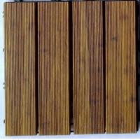 China DIY Outdoor Bamboo Decking Tiles wholesale
