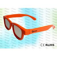 China Adult RealD and Master Image Circular polarized 3D glasses with polarized lens wholesale