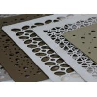 Buy cheap High Security Decorative Perforated Metal Low Maintenance Aesthetic Appearance from wholesalers
