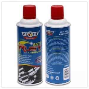 China 65x158mm REACH Tinplate 400ml Anti Rust Lubricant Spray wholesale