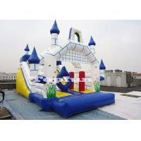 China 26ft Inflatable Camelot Castle Customize With Slide N Obstacles wholesale