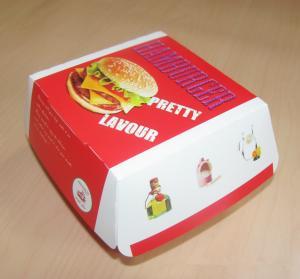 China Ecofriendly Paper Box Packaging Hamburger Paper Box Packaging Box For Burger wholesale