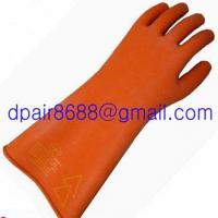 China Latex Rubber Electrician Insulating Gloves wholesale