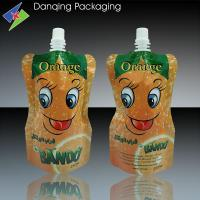 high quality spout standing pouch for juice plastic packaging ,spouted bag,spout pouch