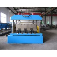 China 0-15m/Min Floor Deck Roll Forming Machine 0.8-1.5mm  Thickness With Coil Car wholesale