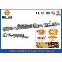 China Performance Breakfast Cereal Corn Flakes Making Machine Automatic Energy Saving wholesale