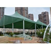 China Music Show High Peak Tent With Hard Pressed Extruded Aluminum Alloy T6061 / T6 on sale
