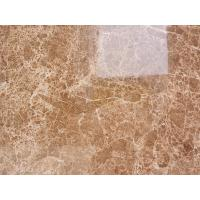 China Hotsale Good Quality Provided Light Brown Marble Crystal Light Emperador Big Gangsaw Slabs 1.8cm thickness Quality A wholesale