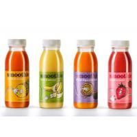 China Vinyl Personalized Juice Bottle Labels Glassine Paper With Fancy Design wholesale