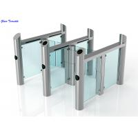 China Stainless Steel Turnstile Supermarket Swing Gate Fast Speed Gate wholesale