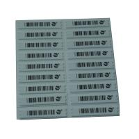 China EAS Soft Label AM Sticker  58KHz Security System For Retail Store wholesale