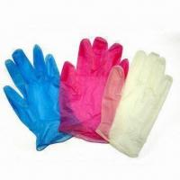 China Disposable PVC Gloves, Suitable for Medical Use, Measures S, M, L and XL wholesale