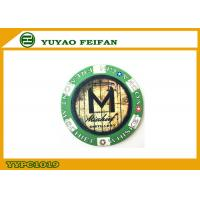 China Mischief Vodka Authentic Casino Poker Chips Two Side Different Logo wholesale