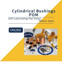 China Flat Strips Carbon Steel Bronze POM Strips Composite Bearings Cylindrical Bushings DIN 1494 wholesale