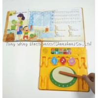 China Music drum toy Drum , Intellectual Funny Nursery Rhyme Play A Sound Book on sale