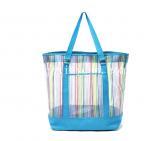 China NEW 2014 shopping bags mesh shoulder vitality beach bag Fashion shopping bag wholesale