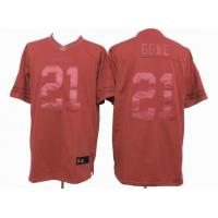 China nike nfl San Francisco 49ers 21 Gore red drenched jersey wholesale