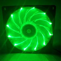 China Multicolor PC Case RGB Fan With Dual LED Ring Remote Control Hydraulic Type wholesale