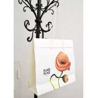 China Folded gift paper bag with high quality material & beautiful printing wholesale