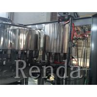 China Automatic Water Bottle Filling Machine / Wrapping Machine 380V CE Certification wholesale