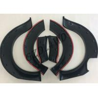 China Durable Wheel Arch Flares With Logo Printed , Abs Navara Np300 Fender Flares wholesale