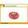 One Bund Custom Pure Ceramic Poker Chip Design Vivid Red For Supermarket for sale