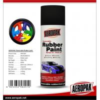 China Aeropak Simple To Handle Glossy Matt Peelable Rubber Spray Paint Colorful For Car wholesale