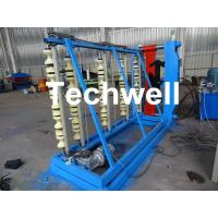 China Vertical Hydraulic Roof Panel Roll Forming Machine for Curving Color Coating Steel Roof Sheet wholesale
