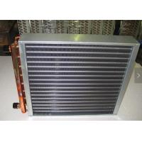 China Aluminum Fin HVAC Heat Exchanger Treated With Powder Coating Prevent Corrosion wholesale