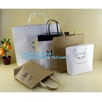 China customized Packaging Carrier-Bags Boxes Luxury Property Resorts Folding Ribbon,background luxury gift paper bag carrier wholesale