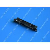 China 29P Laptop Serial Attached SCSI Connector , Black SAS SFF 8482 Connector wholesale