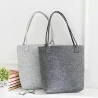 Buy cheap Free Sample Lowest MOQ High Quality Big Tote Bag Shopping Felt Handbags. size is from wholesalers