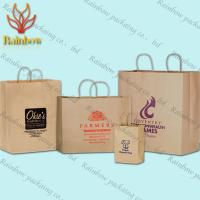 China Reycled Handmade Paper Shopping Bag Custom Luxury Printed Delicate wholesale