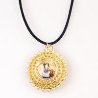 China Newest Gold/Silver Religious Necklace on sale