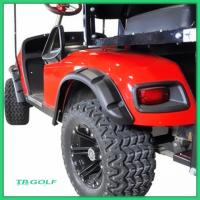 Quality Standard Golf Cart Fender Flares With Hardware PP Material For Ez Go Rxv for sale