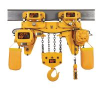 Buy cheap FEC Electric 10 Ton Chain Hoist Without Trolley For Mining Industry from wholesalers