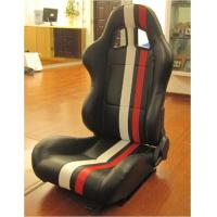 China Large Reclinable Sport Racing Seat Office Chair For Driver / Passenger wholesale