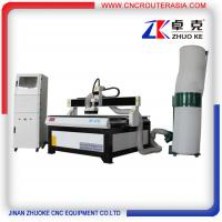 China Advertising Wood CNC Cutting Machine 4*4 feet with dust collector ZK-1212-2.2KW on sale
