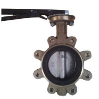 China DN80 PN20 Wafer Type Butterfly Valve Aluminium Bronze Lug Type Butterfly Valve wholesale