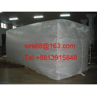 Buy cheap White Bulk Containers Liner Bag PP Woven Fabric for 20 ft / 40 ft / 40HQ from wholesalers