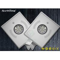China IP65 Integrated Outdoor 12W All In One Solar Led Street Light for Garden wholesale