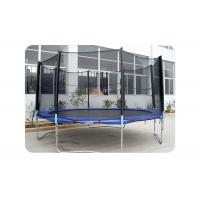 China Fitness Play Mobile Bungee Trampoline , Portable Trampoline Enclosure Set wholesale