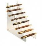 China High Transparent Ladder Shape Acrylic Pen Holder wholesale