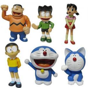 China Doraemon action figure,cartoon figure wholesale
