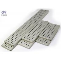 Buy cheap Galvanized Steel Perforated Metal with Folded Sides for Architectural Decoration from wholesalers